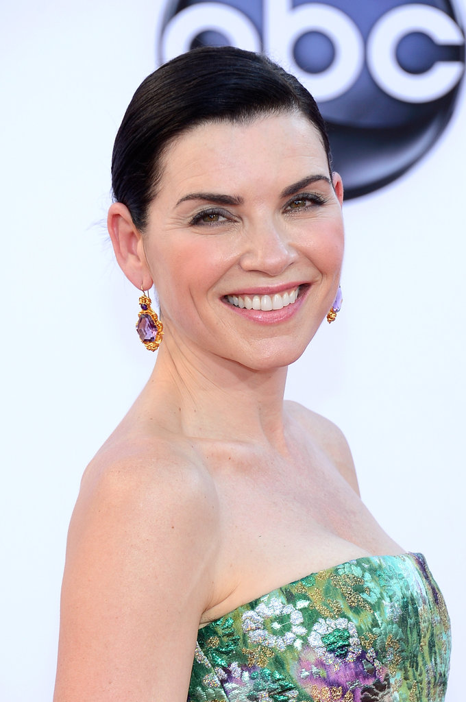 Julianna Margulies smiled on the red carpet.
