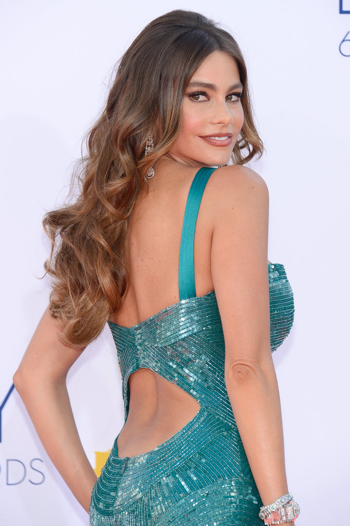 Sofia Vergara's Zuhair Murad gown showed off her back.