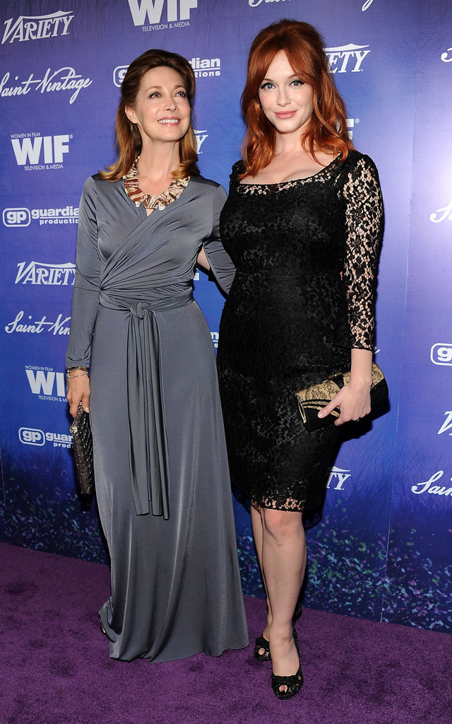 Sharon Lawrence & Christina Hendricks