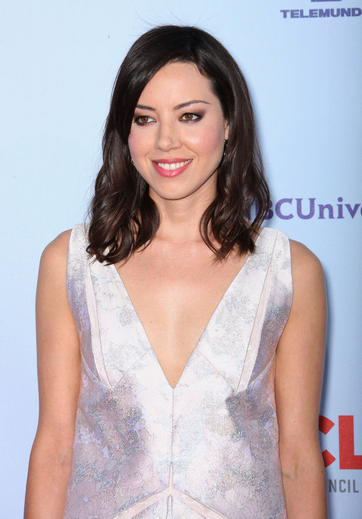 Aubrey Plaza hit the red carpet.