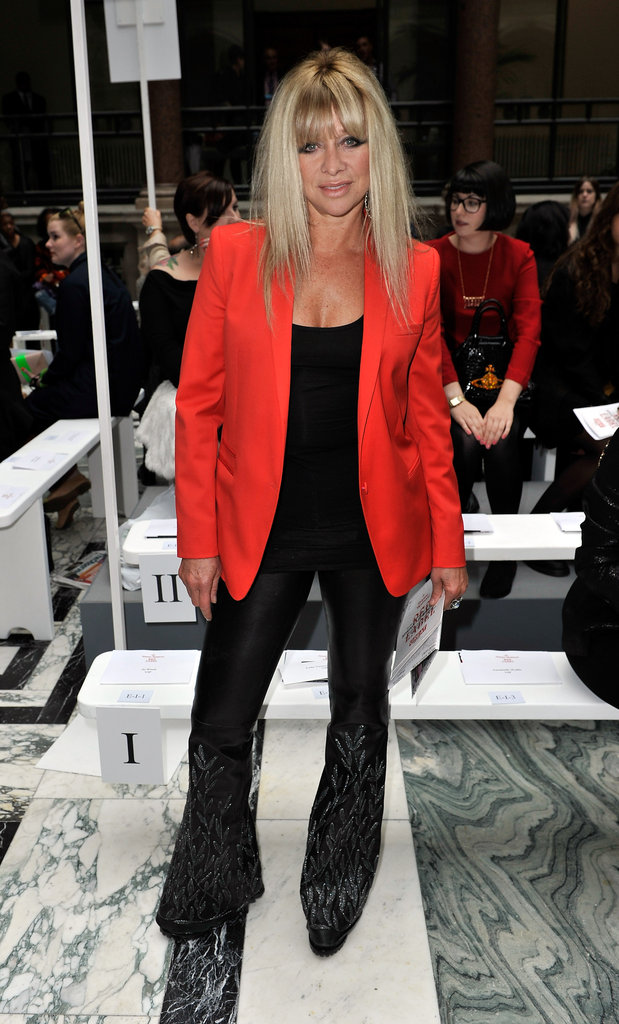 Jo Wood at Vivienne Westwood Red Label
