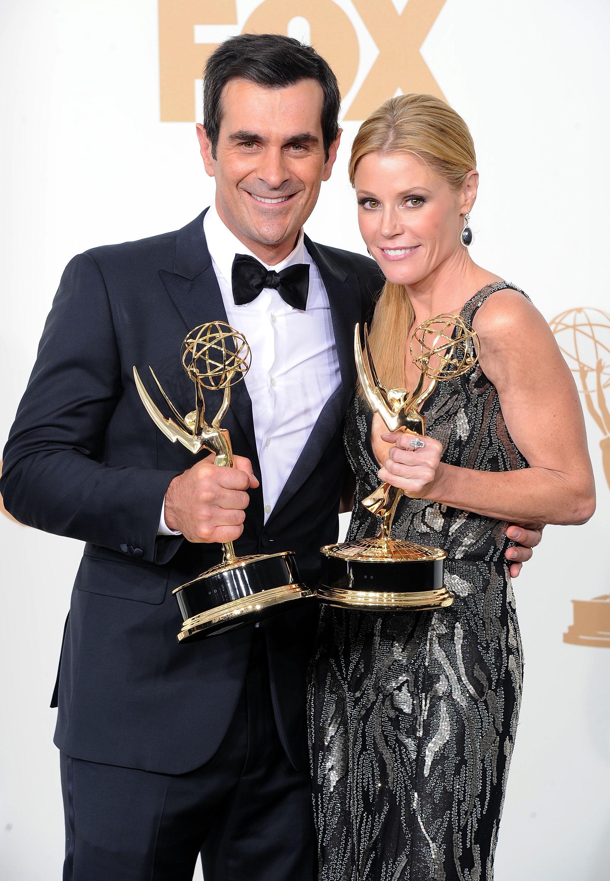 Julie Bowen couple