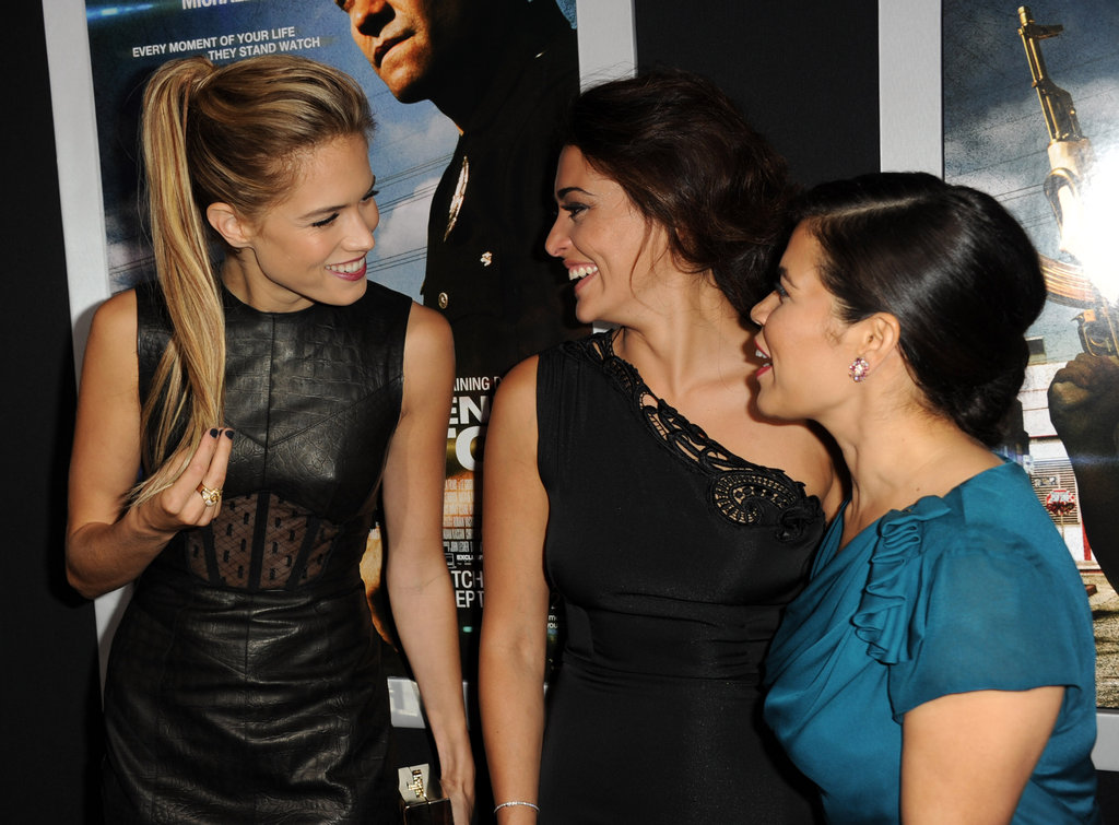 Photo of Natalie Martinez & her friend actress  Cody Horn -