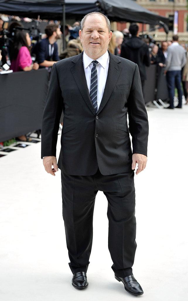 Harvey Weinstein at Burberry