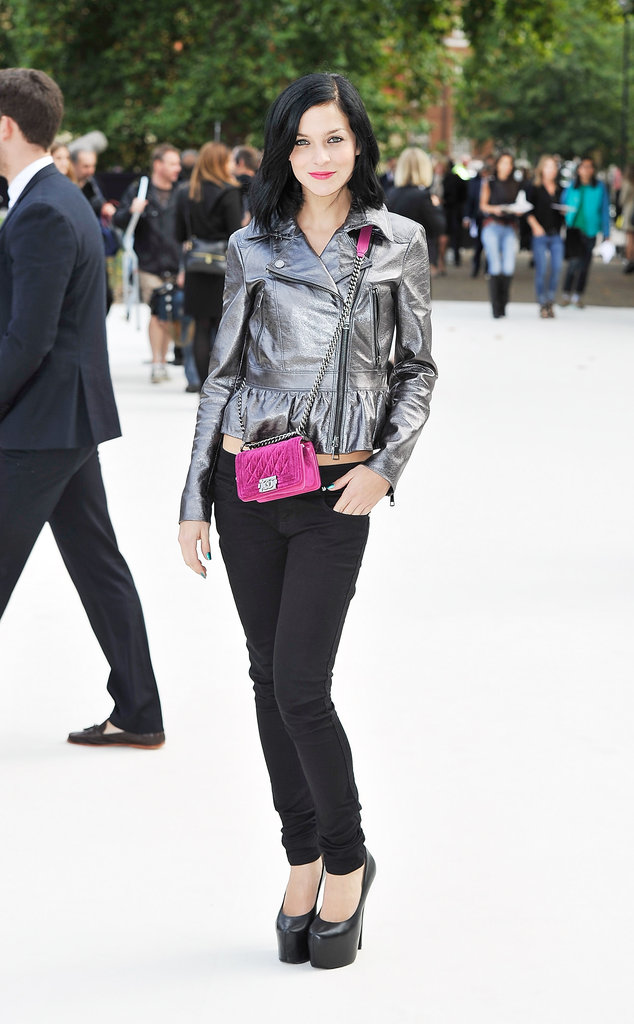 Leigh Lezark at Burberry