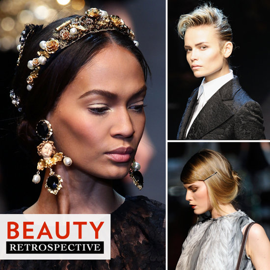 10 of the Most Memorable Beauty Looks From Dolce & Gabbana