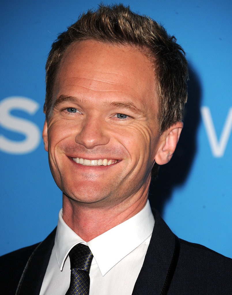 Neil Patrick Harris had a smile on his face at the CBS Fall premiere party in LA.