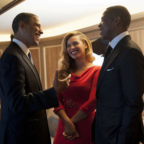 Beyonce and Jay-Z Pictures With President Barack Obama at Fundraising Event in NYC