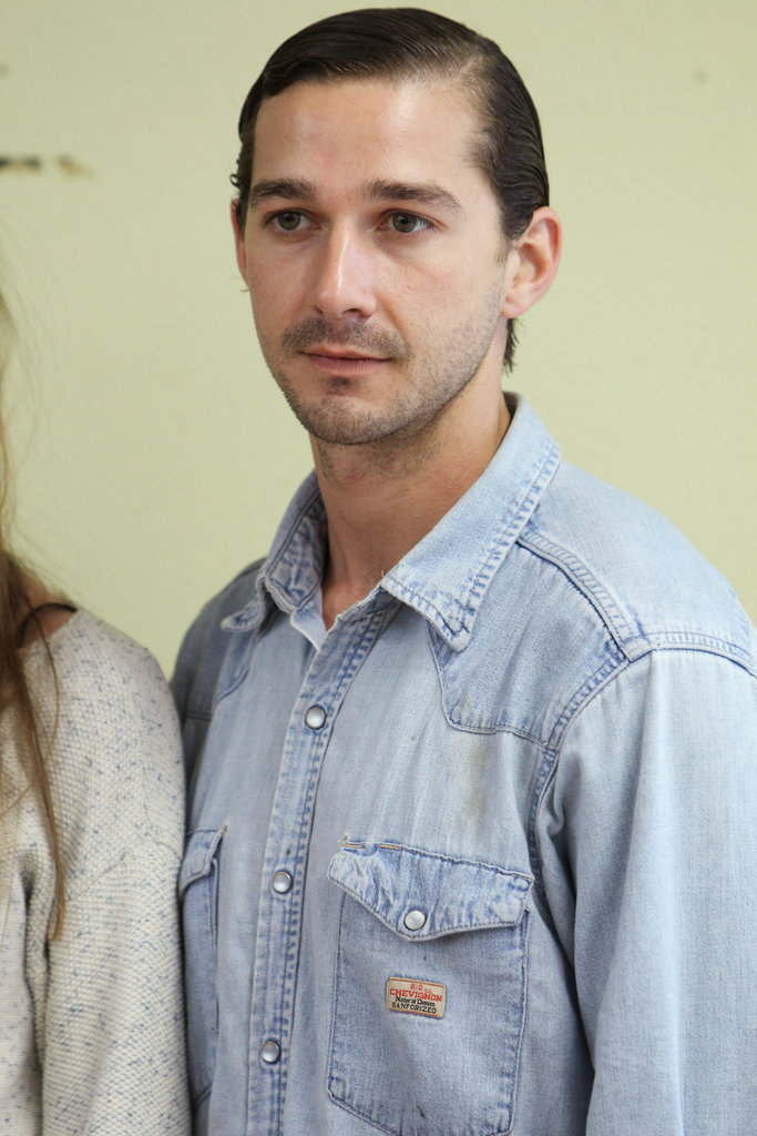 Shia LaBeouf was in Cologne for Nymphomaniac.