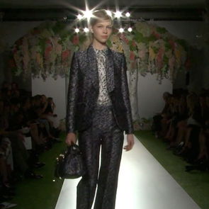 Mulberry Spring 2013 Runway (Video)