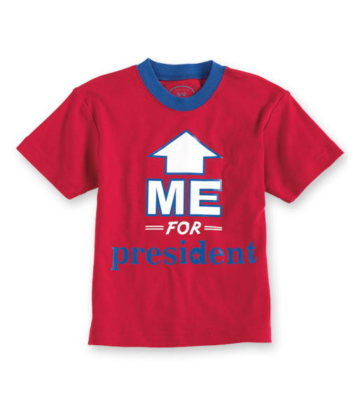 Vote Me For President Tee ($28)