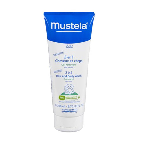 Mustela 2-in-1 Hair and Body Wash