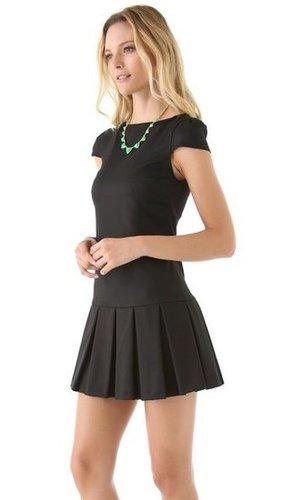 alice + olivia Demi Drop Waist Dress | SHOPBOP
