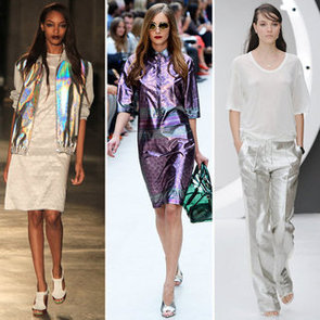 How To Wear Iridescent Trend London Fashion Week Spring 2013