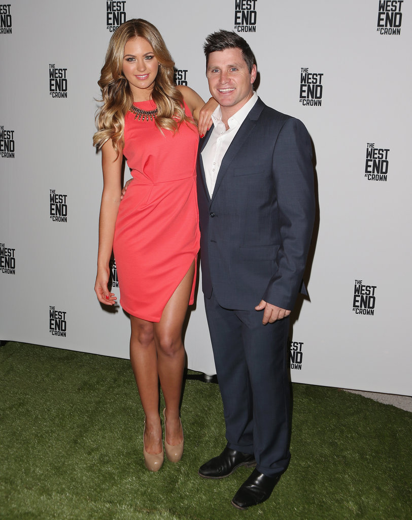 Jesinta Campbell and Shane Crawford