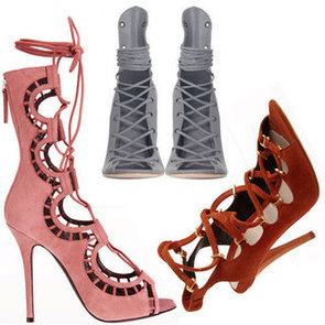 Top Ten Lace-Up Heels and Sandals to Buy online Now: Joie, Salvatore Ferragamo,
