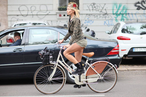 Can we talk about the patchwork cap? We spy a Chanel badge in the mix! Source: Greg Kessler