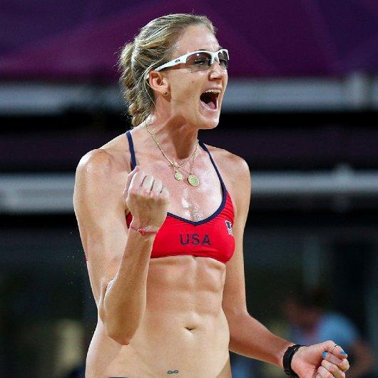 Kerri Walsh Pregnant at the Olympics