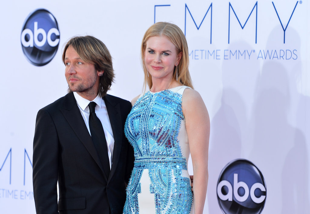 Nicole Kidman Has Keith Urban By Her Side For Her Big Emmys Day