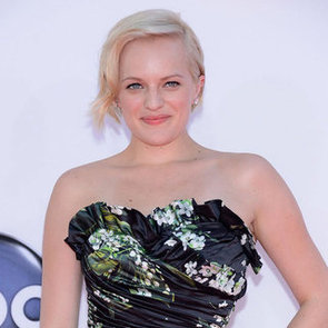 Picture of Elisabeth Moss's Hair and Makeup at the 2012 Emmy Awards