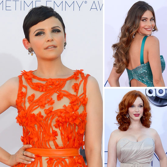 Zoom In Close on the Emmys Hair and Makeup Looks
