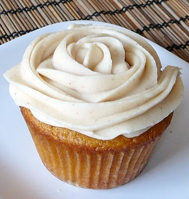 Brown Butter Pumpkin Cupcakes