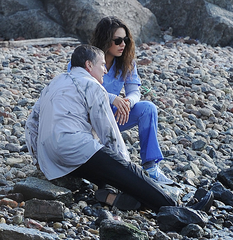 Mila Kunis and Robin Williams shot The Angriest Man in Brooklyn in NYC.