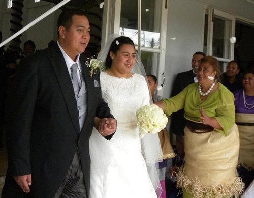Prince Tupouto'a 'Ulukalala and Sinaitakala Tu'imatamoana 'i Fanakavakilangi Fakafanua The Bride: Sinaitakala Tu'imatamoana 'i Fanakavakilangi Fakafanua, a former teacher. The Groom: Prince Tupouto'a 'Ulukalala, crown prince of Tonga. When: July 12, 2012. Where: Nuku'alofa.