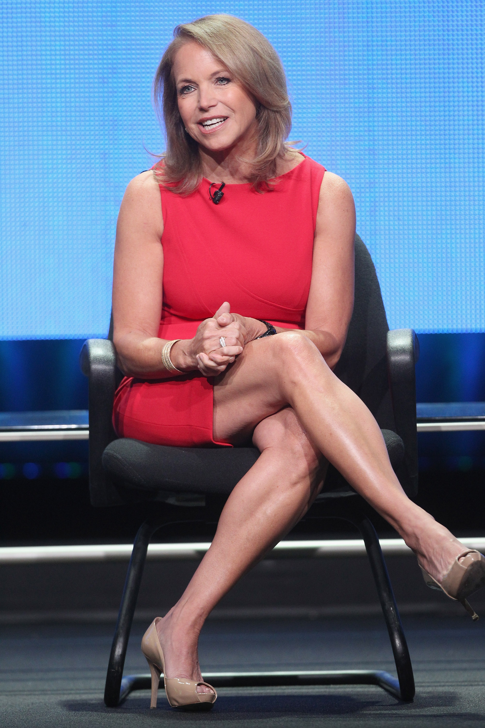 katie couric sexy stockings pictures