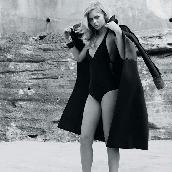 Samara Weaving Swimsuit Pictures in GQ Australia Magazine
