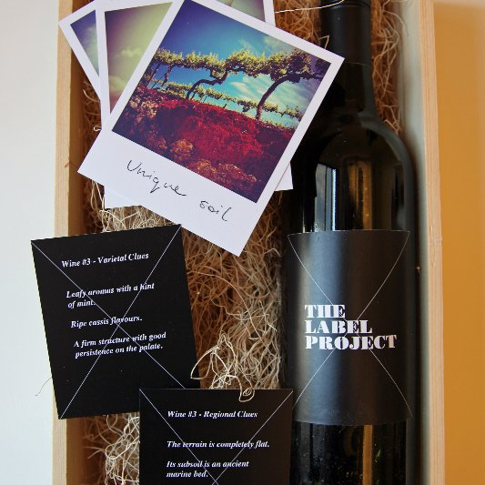The Label Project Wine Tasting