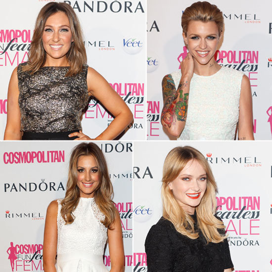 Pictures of Celebrities at the 2012 Cosmopolitan Fun Fearless Female Awards: Zoe Foster, Ruby Rose, Sophie Lowe and more