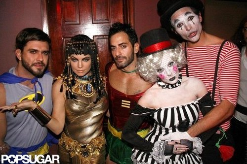 Fergie partied with Marc Jacobs and friends in NYC as Cleopatra in 2010.