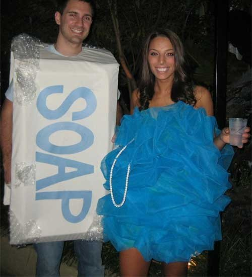 Soap and Loofah