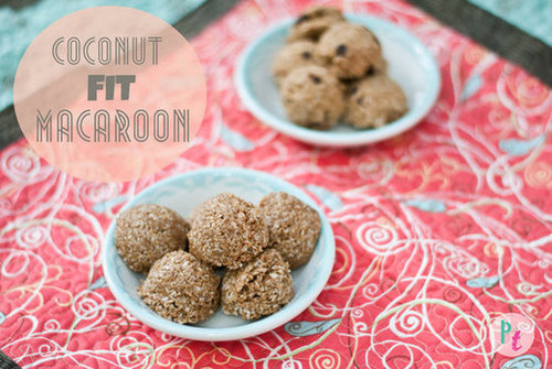 Coconut Protein Fit Macaroons