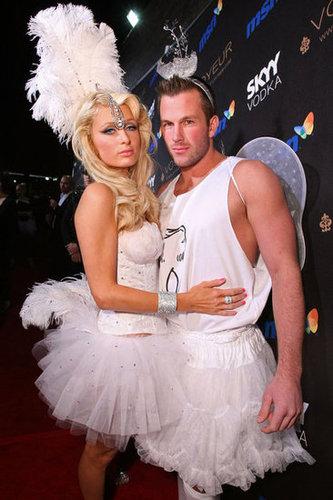 Paris Hilton and Doug Reinhardt cozied up at an LA bash in 2009.