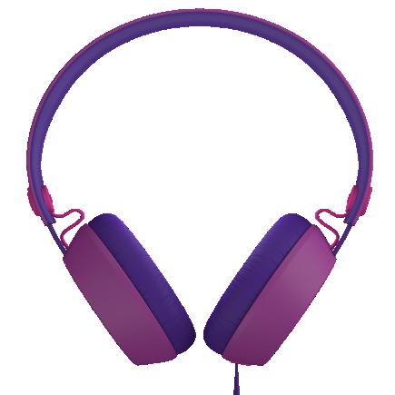 Color Block Headphones