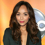 Ashley Madekwe Blends Menswear and Sexy in a Green Tuxedo Look