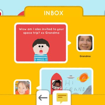 Maily Email For Kids