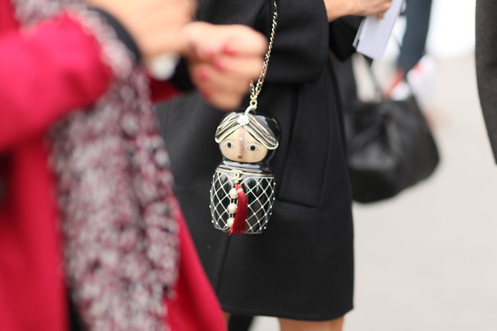 A beautiful little Russian doll was a one-of-a-kind accoutrement.