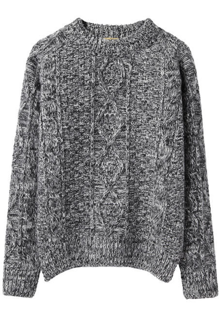 Nothing beats a thick, cozy sweater, like this Peter Jensen Cable Knit Jumper ($337) —you can dress it up with a sexy leather skirt or down with jeans and Converse.