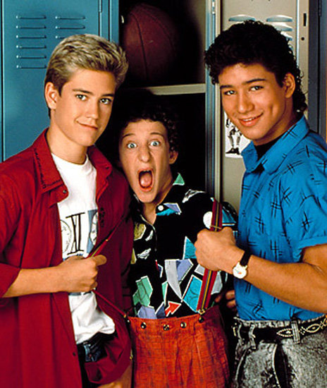 Zack, Screech, and Slater From Saved by the Bell