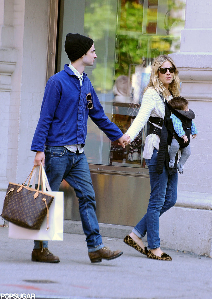 Sienna Miller and Tom Sturridge Spring Into Fall With Baby Marlowe