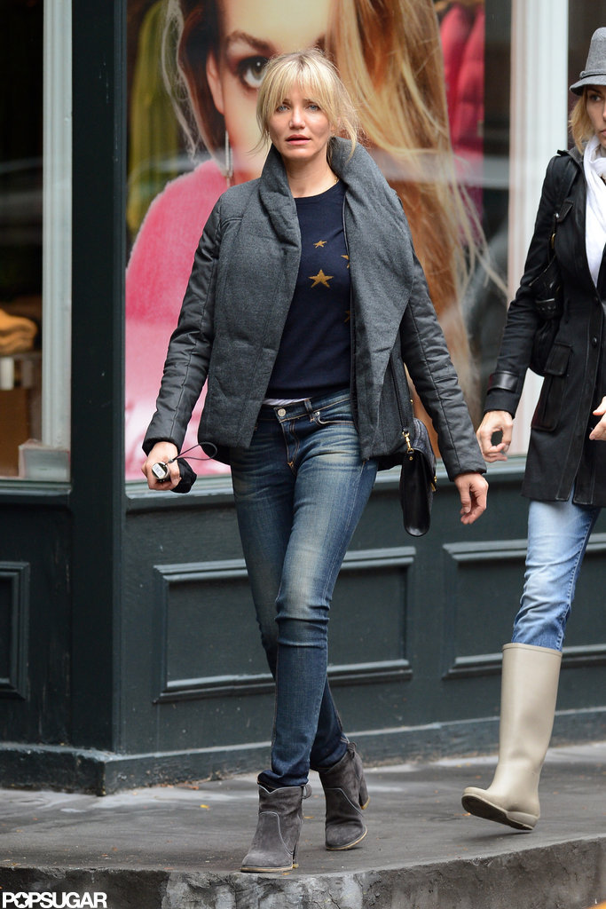 Cameron Diaz shopped around NYC.