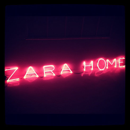Zara Home Launch Party