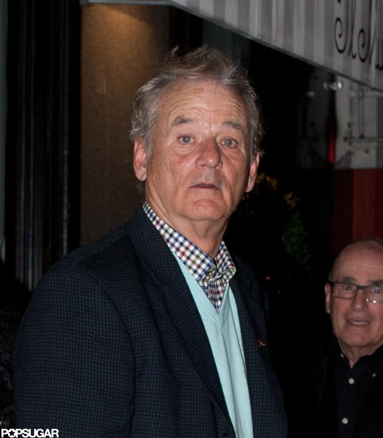 George Clooney and Stacey Keibler had dinner with Bill Murray and Karen Duffy at Il Mulino in NYC.