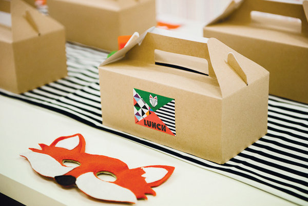 Boxed-Fox Lunch