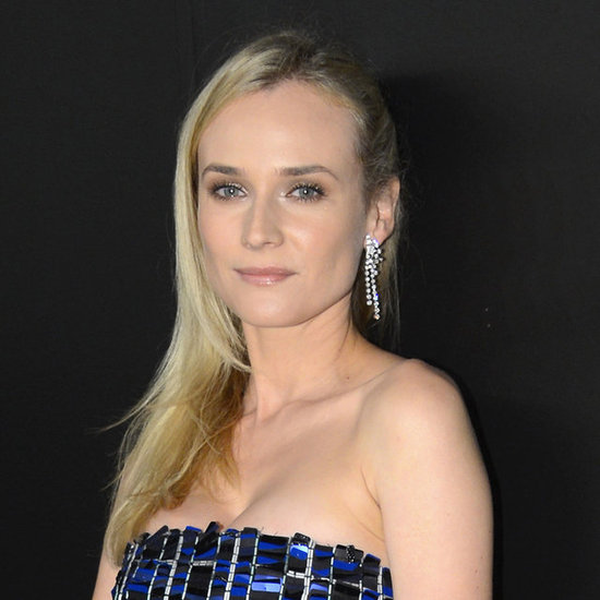 How to Get Diane Kruger's Straight Hair