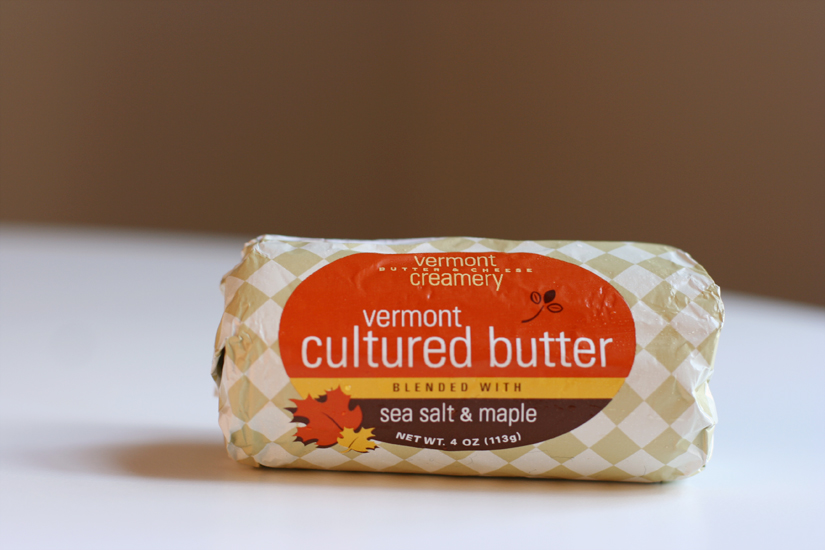 Vermont Creamery Cultured Butter With Sea Salt and Maple