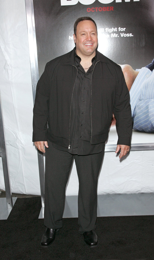 Kevin James hit the carpet at the premiere.